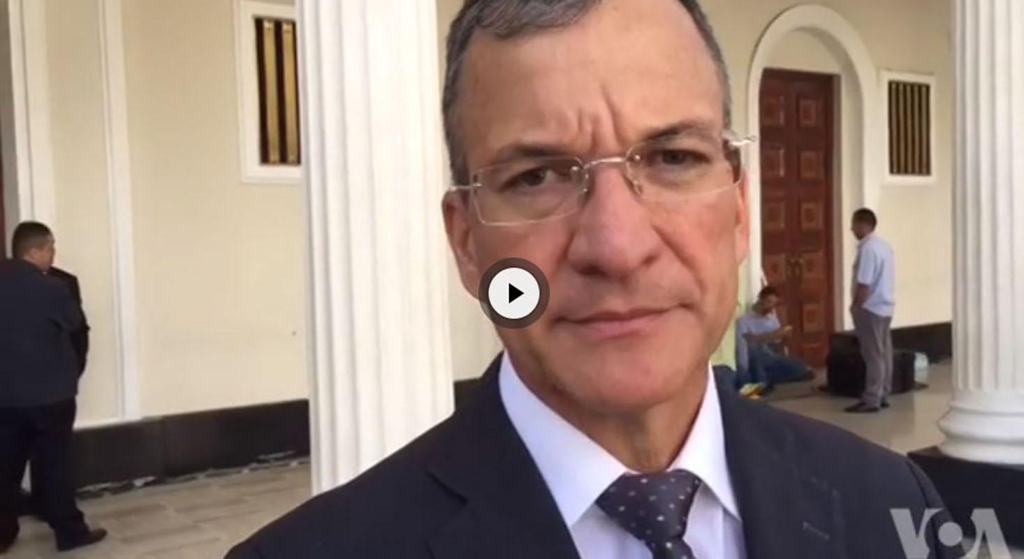 VIDEO: Diputado venezolano Teodoro Campos critica operativo en caso Oscar Pérez