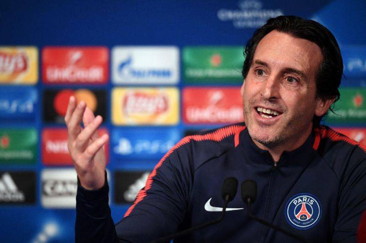 """Emery ve al París SG """"campeón de la Champions"""""""
