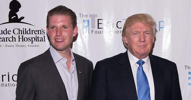 """Eric Trump niega que su padre sea racista y dice que solo ve """"el color verde"""""""