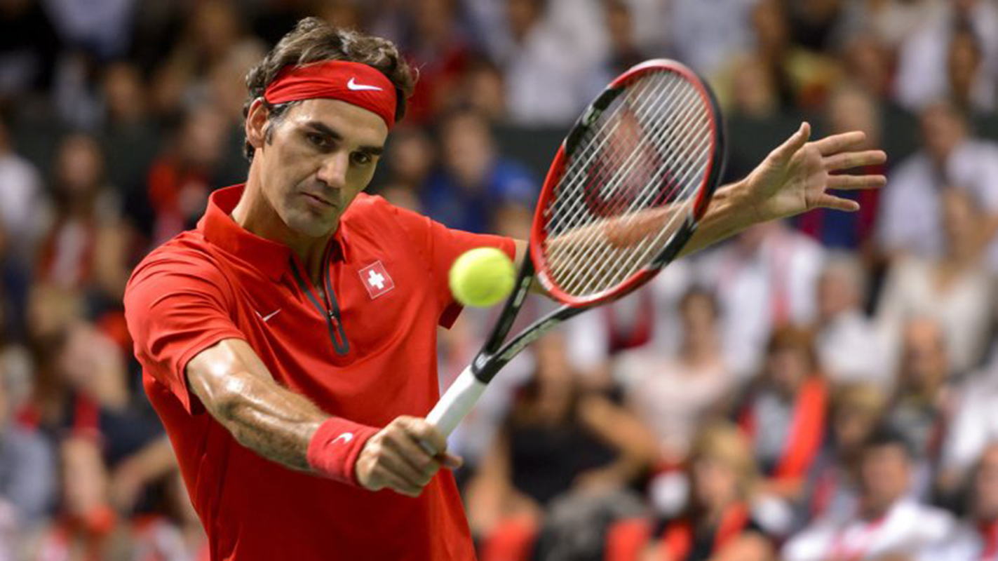 Federer derrota a Khachanov en la Copa Hopman