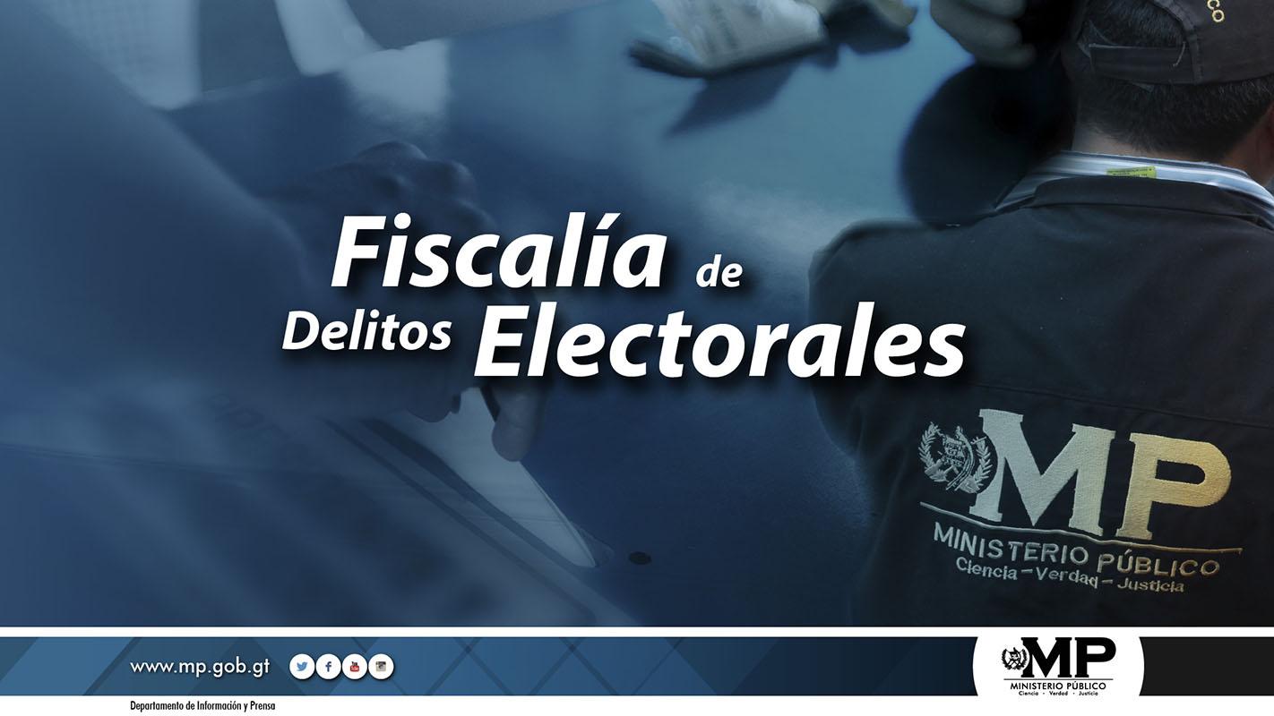 Fiscalía de delitos Electorales investiga 56 casos del proceso 2015