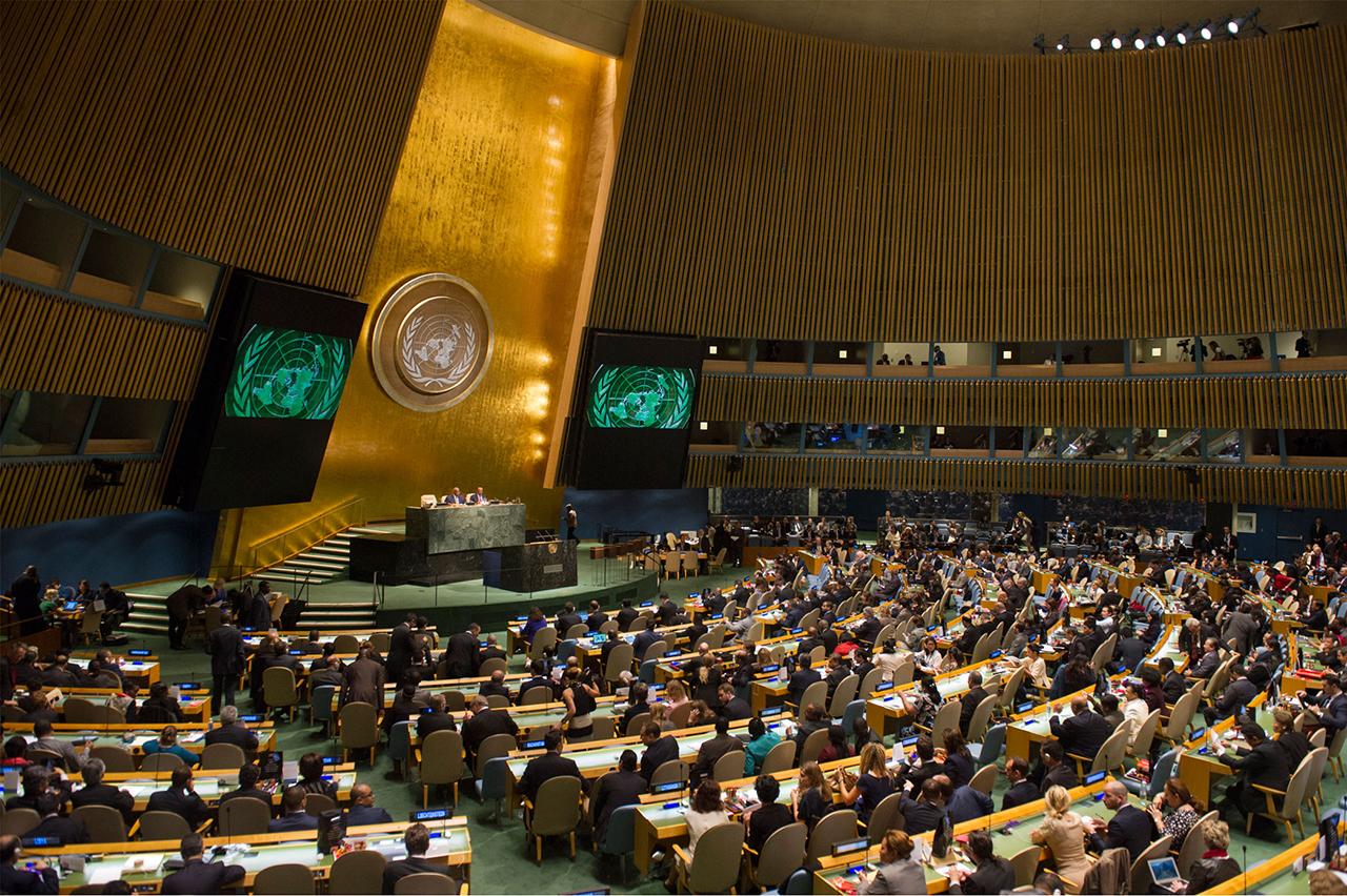 """La ONU considera """"escandalosos"""" y """"vergonzosos"""" los insultos de Trump a El Salvador, Haití y África"""