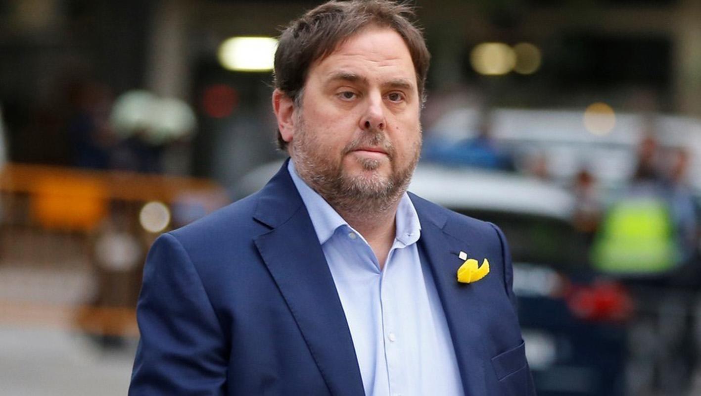 La justicia mantiene en prisión al ex vicepresidente catalán Oriol Junqueras