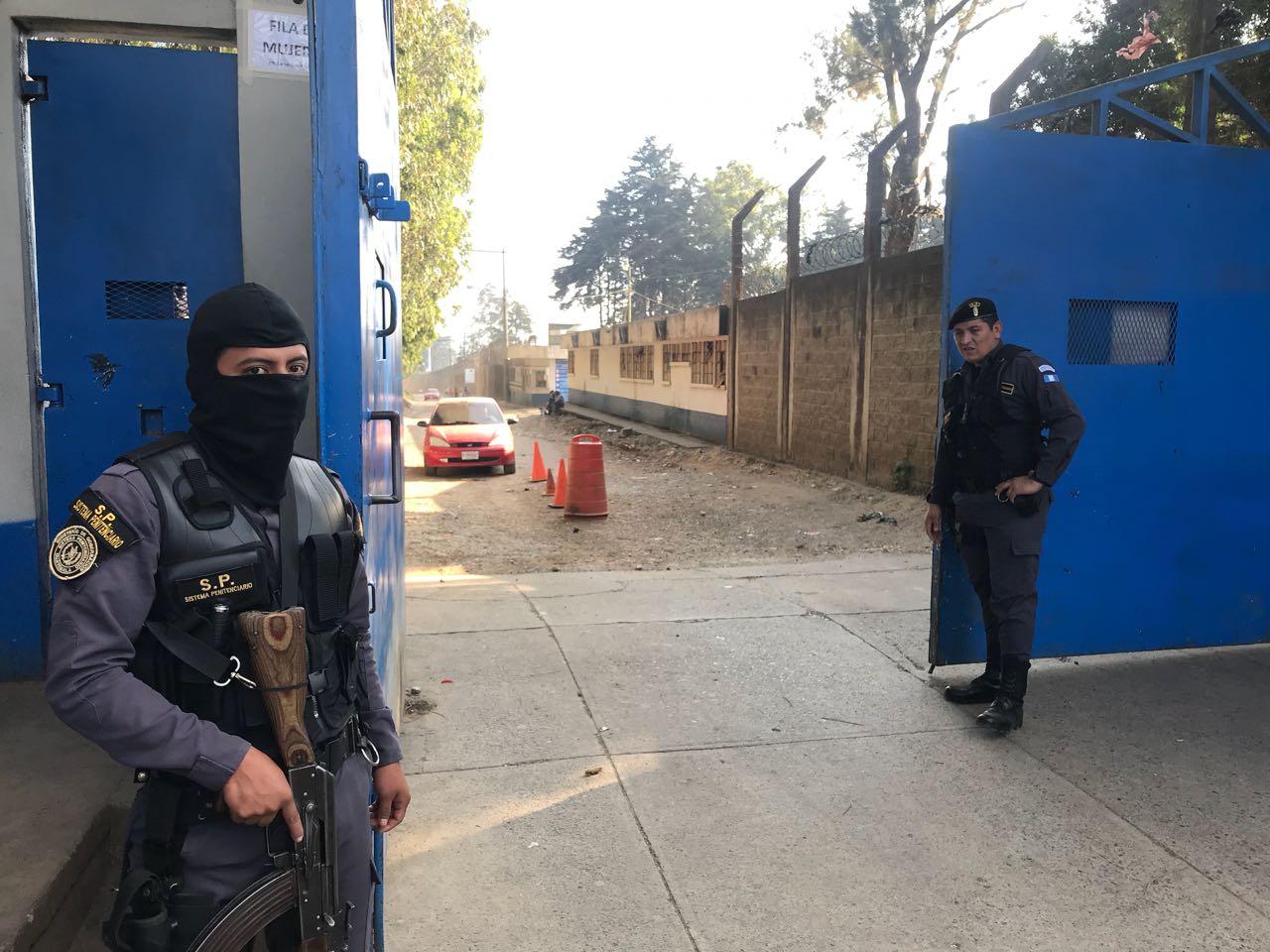 Fuga de reo EU Emisoras Unidas Guatemala