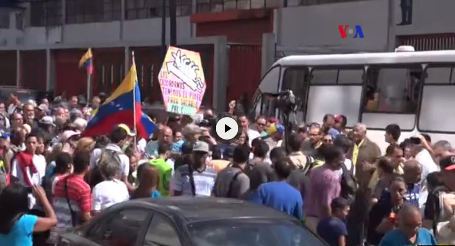 VIDEO: Se agudiza la crisis política en Venezuela