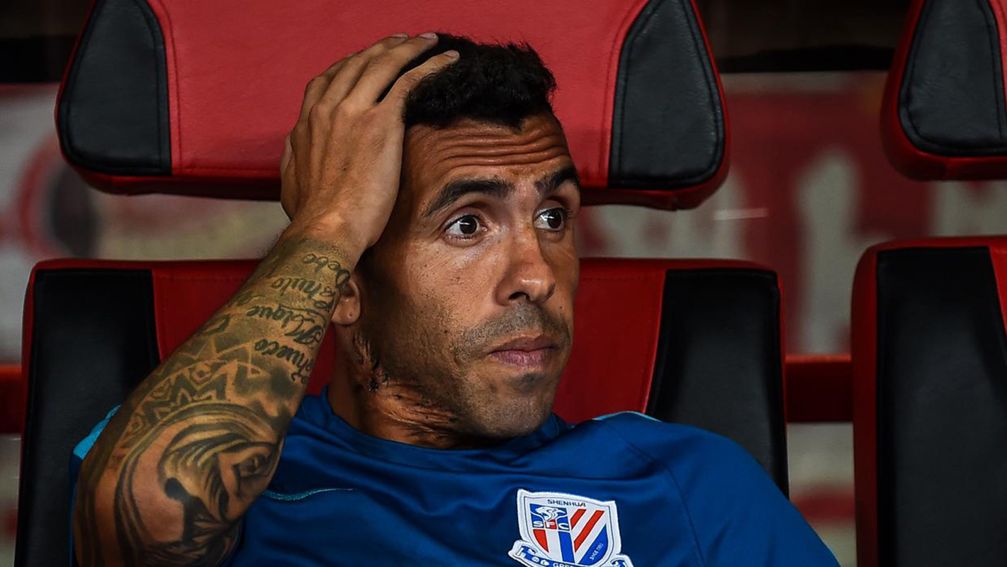 Tevez está cerca de rescindir su contrato con el Shanghai Shenhua