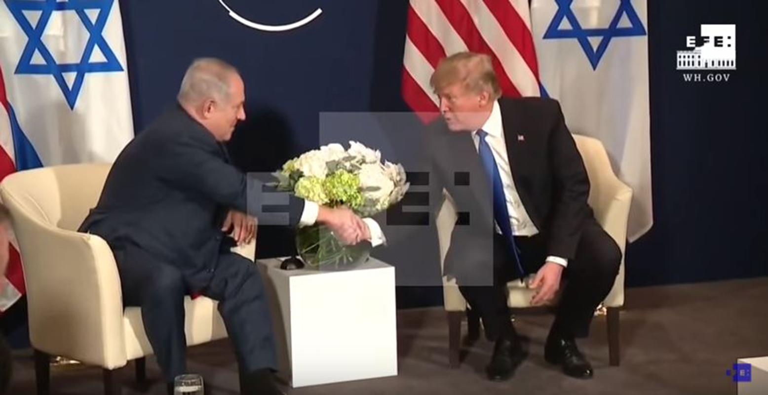 Trump agita desde Davos de nuevo las aguas en el conflicto palestino-israelí