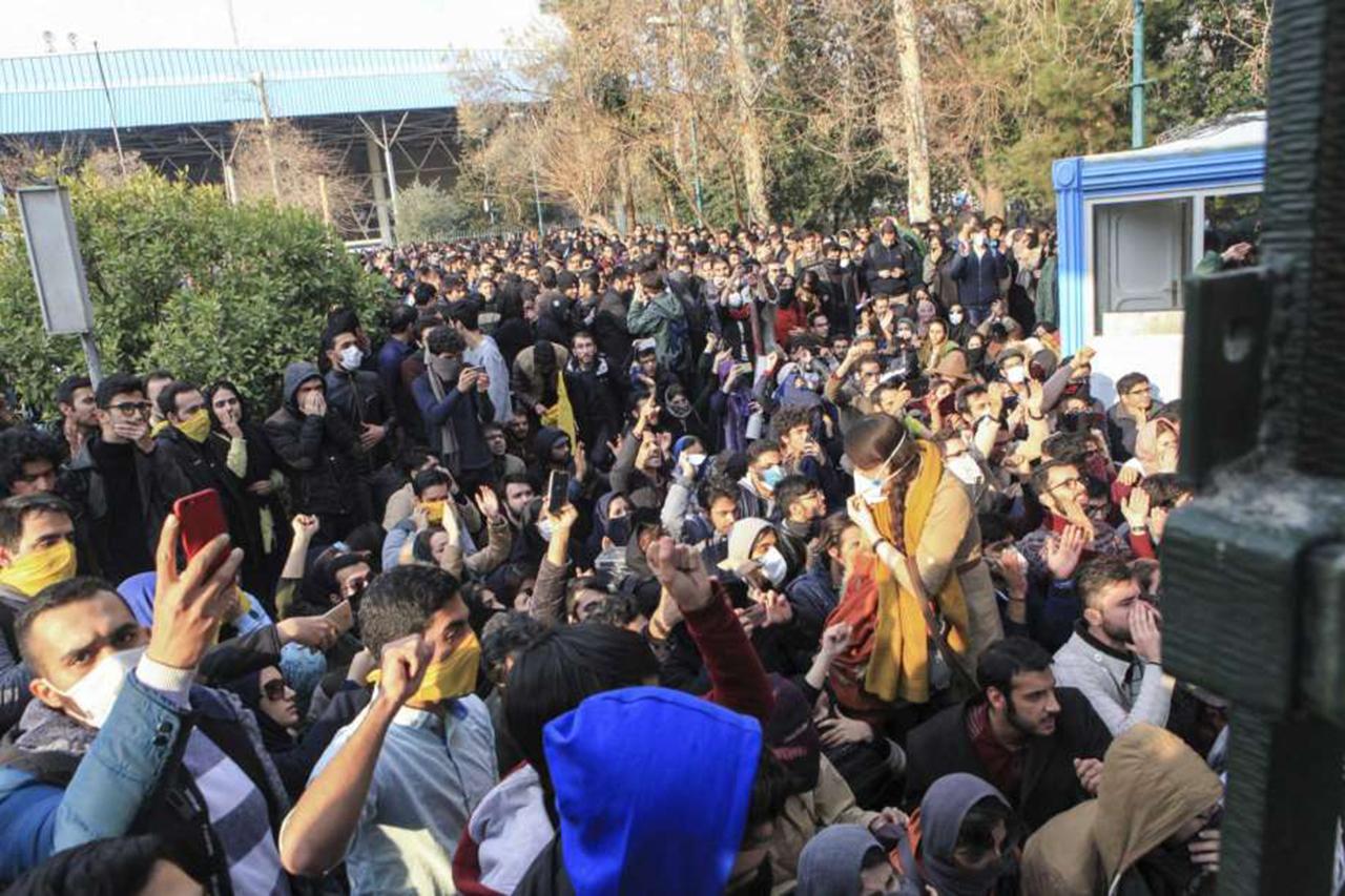 Una semana de protestas en Irán