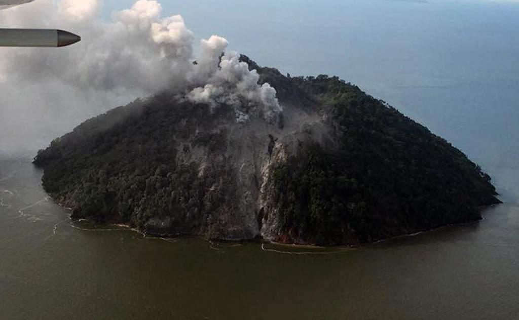 Volcán en Papúa Nueva Guinea EU Emisoras Unidas Guatemala