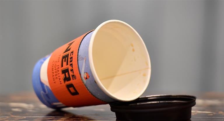 Reino Unido vasos desechables café