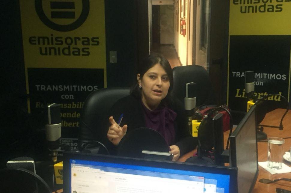 Claudia García EU Emisoras Unidas Guatemala
