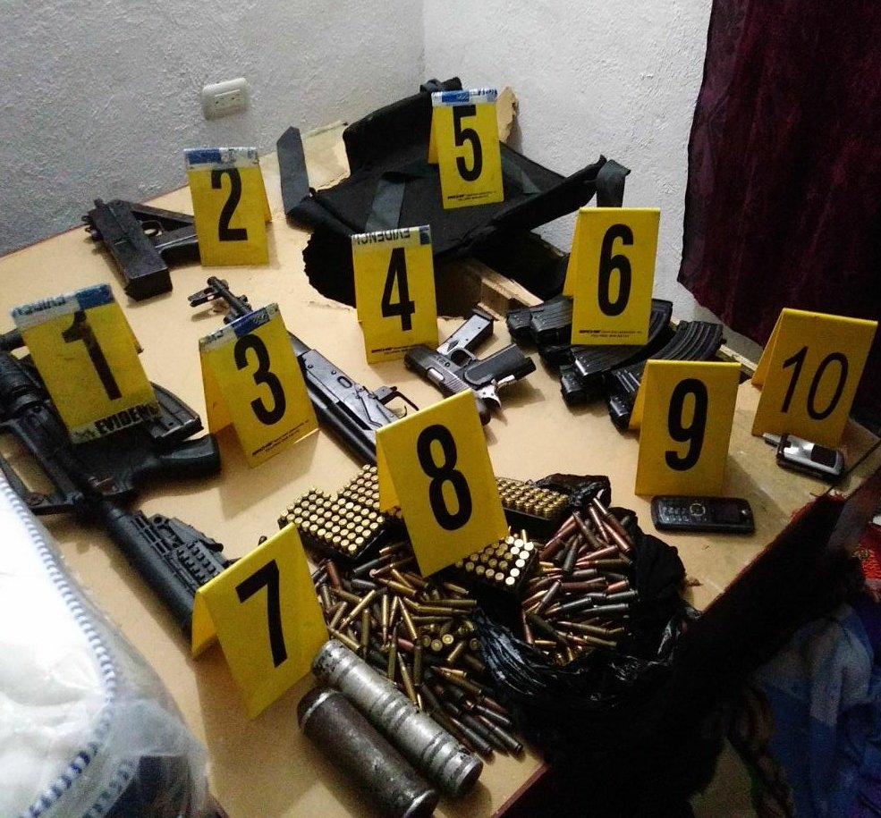 Capturas y decomiso de armas EU Emisoras Unidas Guatemala