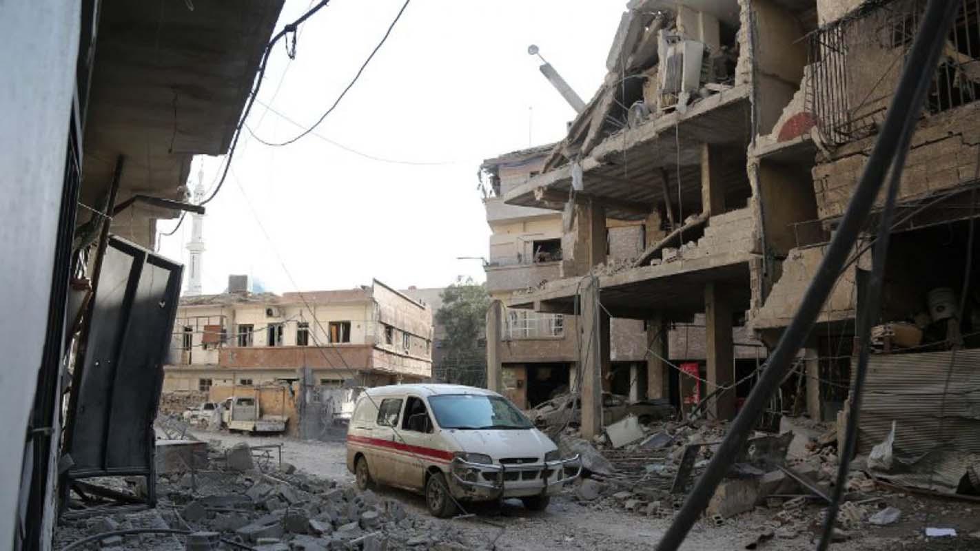 Al menos 13 muertos en nuevos bombardeos contra enclave rebelde sirio de Guta