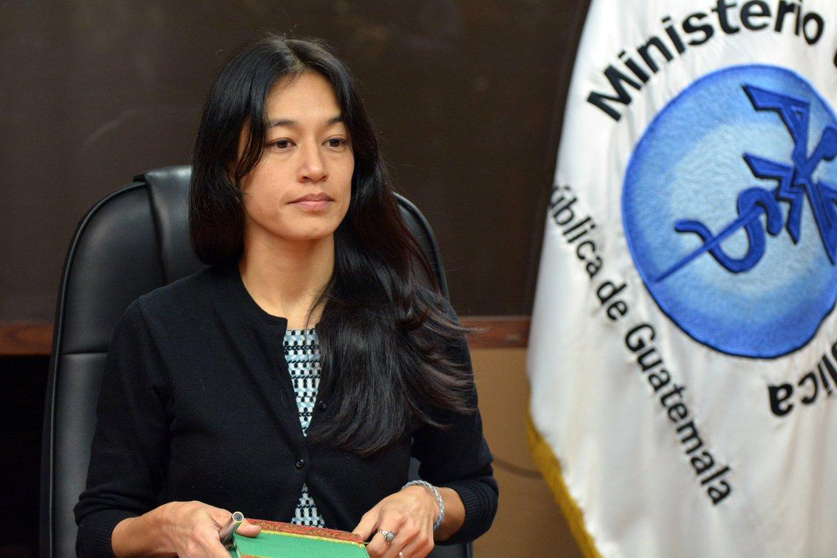 Exministra de Salud Lucrecia Hernández Mack EU Emisoras Unidas Guatemala