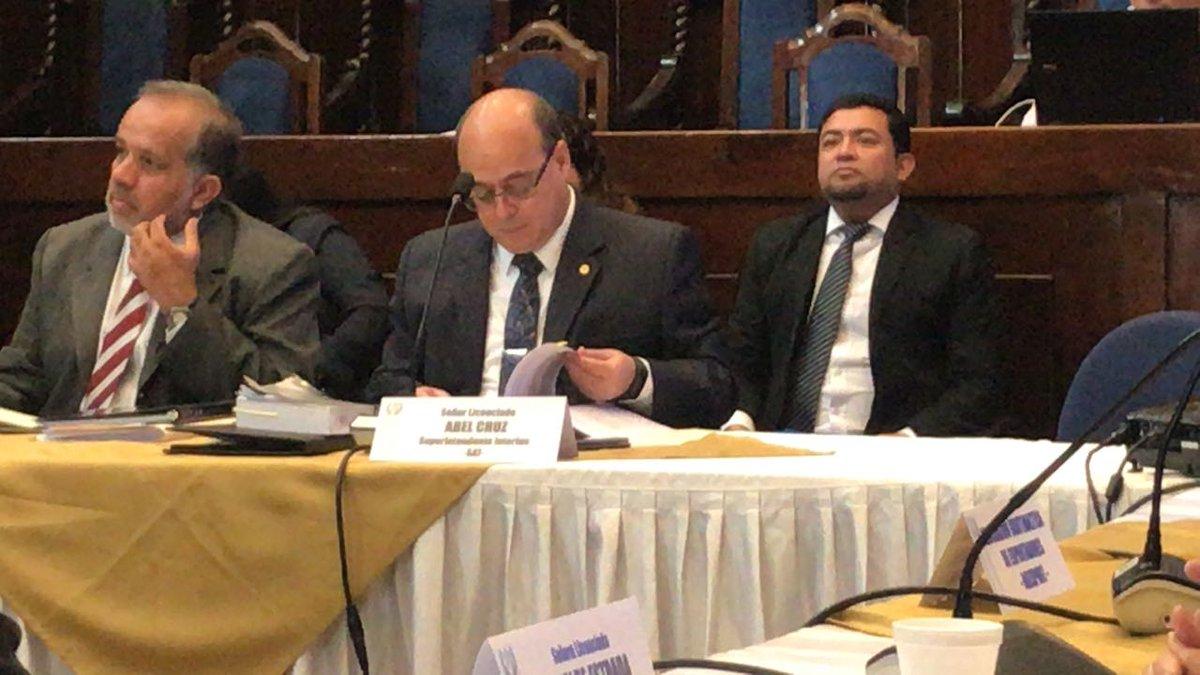 Superintendente interino Abel Cruz EU Emisoras Unidas Guatemala
