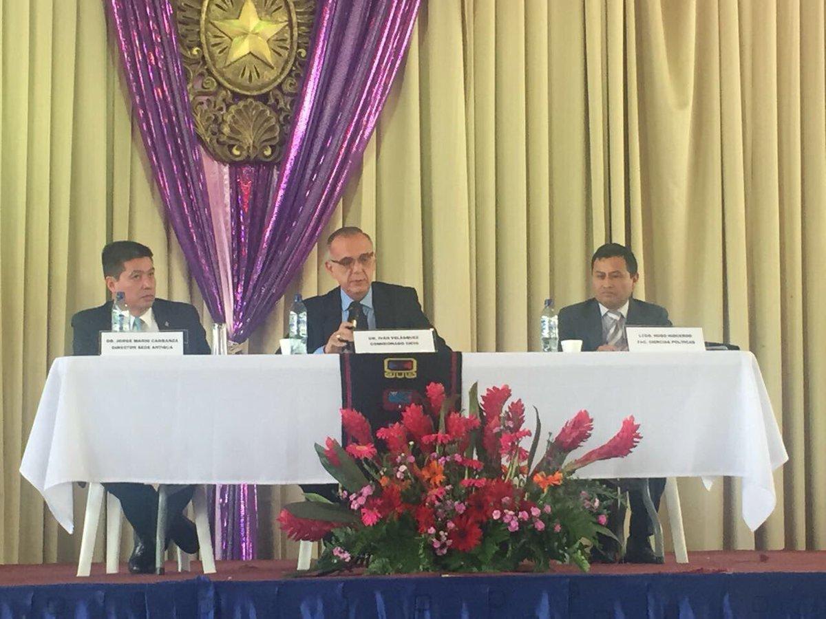 Iván Velásquez EU Emisoras Unidas Guatemala