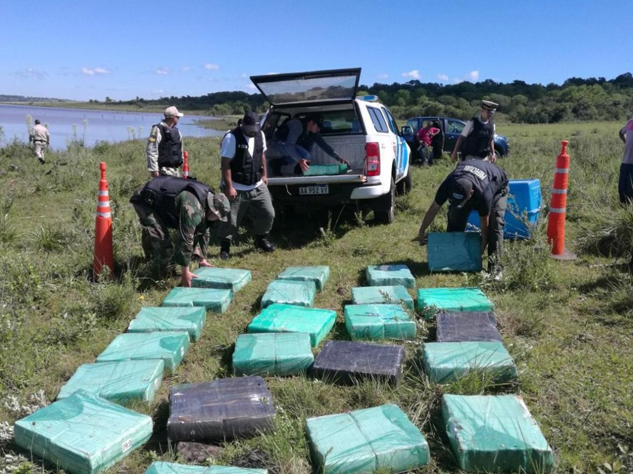 Paraguay: Decomisan casi diez toneladas de marihuana tras 5 días de operativo