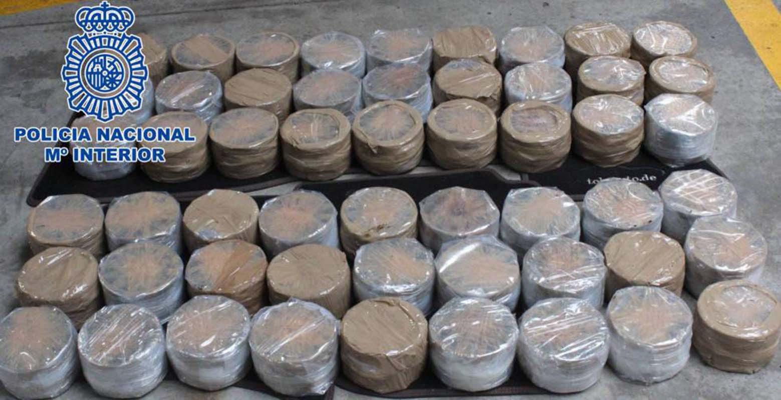 Desbaratan en el sur de España importante red de tráfico de heroína