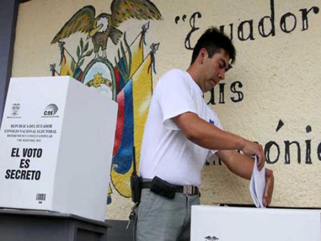 Ecuador eliminó la reelección