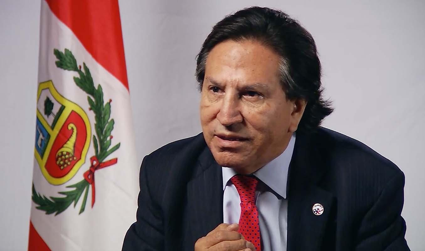 Juez peruano solicitará a Estados Unidos la extradición de Alejandro Toledo