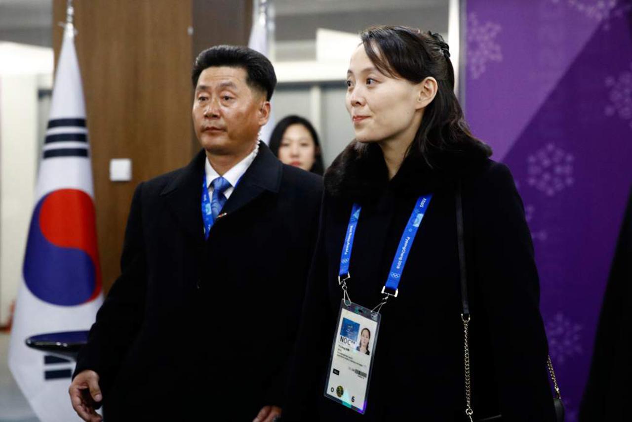 """La hermana de Kim Jong Un llega a Corea del Sur para los """"Juegos de la Paz"""""""