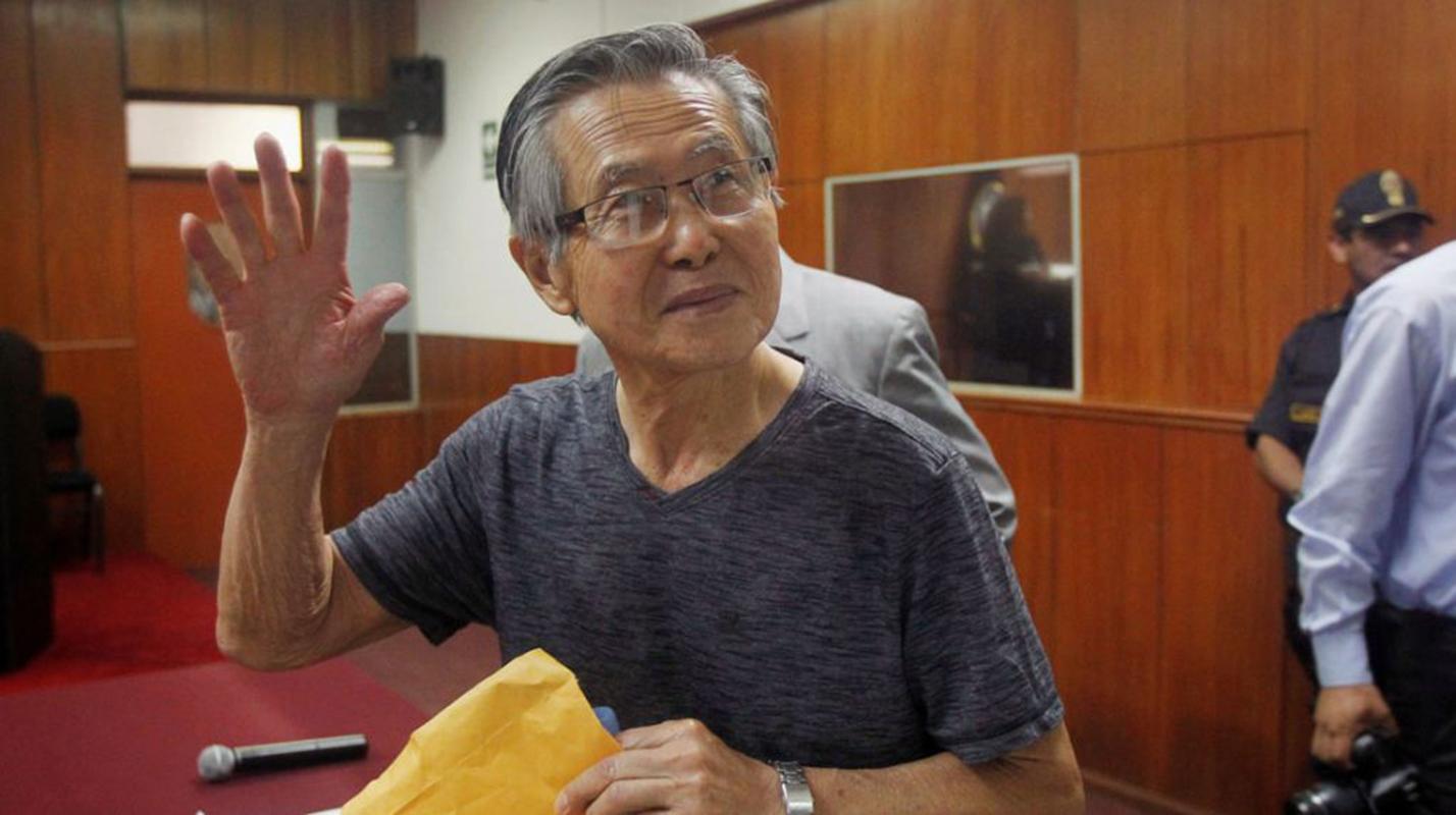 Piden a la Corte Interamericana anular indulto a Alberto Fujimori