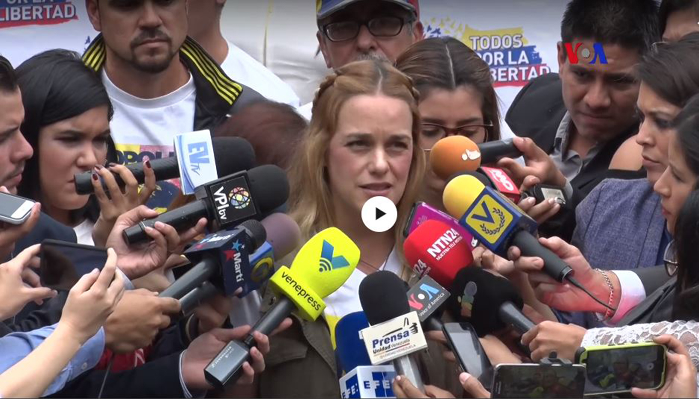 Venezuela: exigen liberación de Leopoldo López
