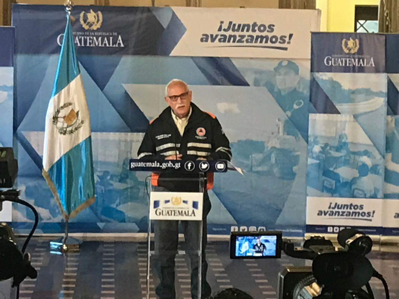 Sergio Cabañas, exsecretario de la Conred.