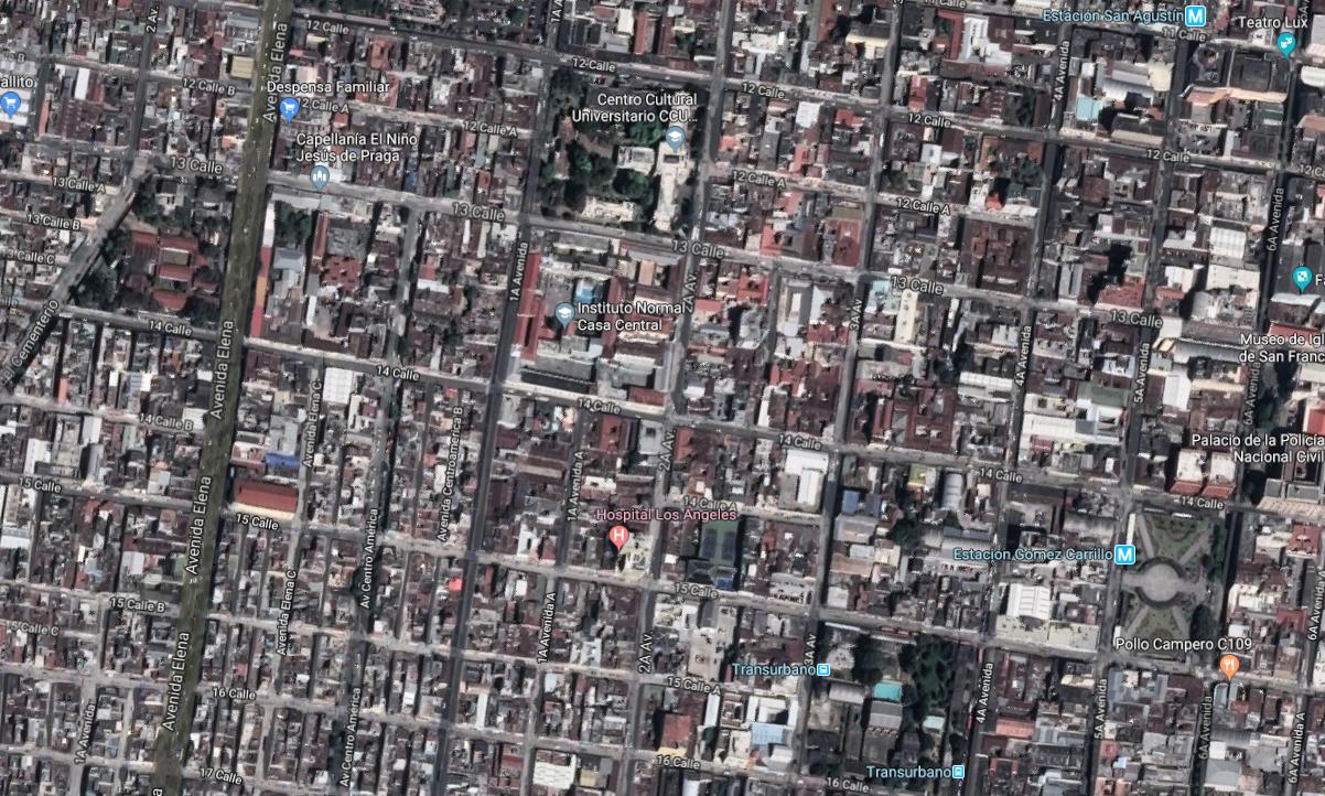Zona 1 Capital EU Emisoras Unidas Guatemala
