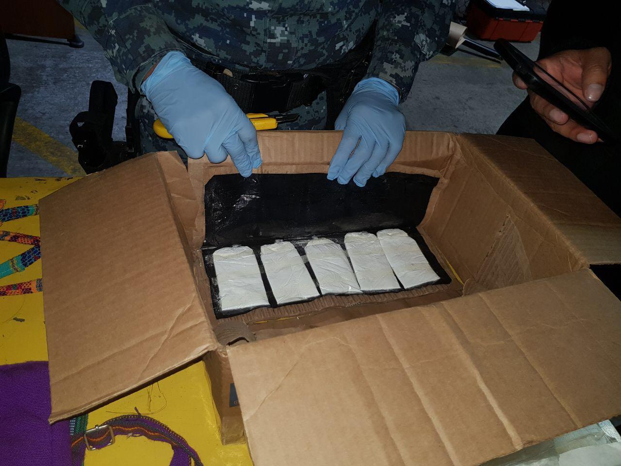 cocaína marihuana Guatemala PNC