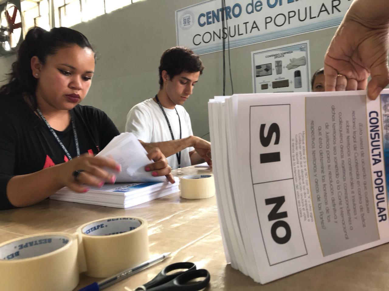 Consulta Popular EU Emisoras Unidas Guatemala