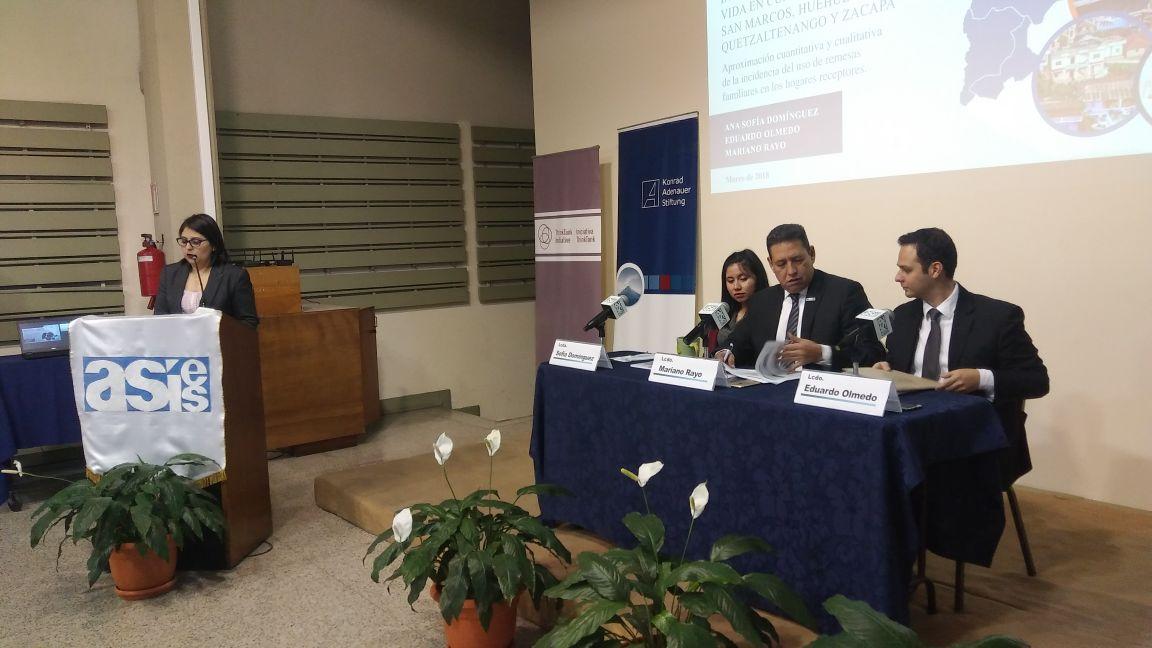 Estudio de ASIES Emisoras Unidas Guatemala EU