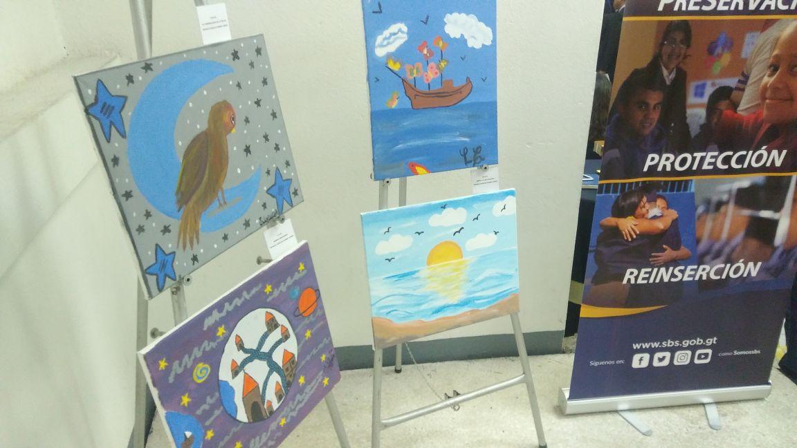 Exposición de arte EU Emisoras Unidas Guatemala