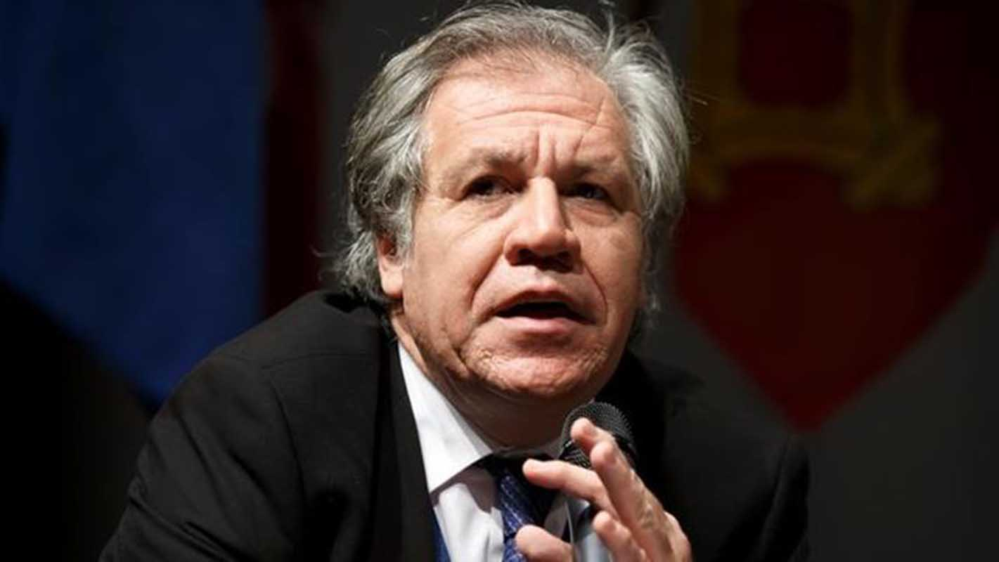 Almagro aplaude que Gobierno colombiano y ELN retomen los diálogos de paz