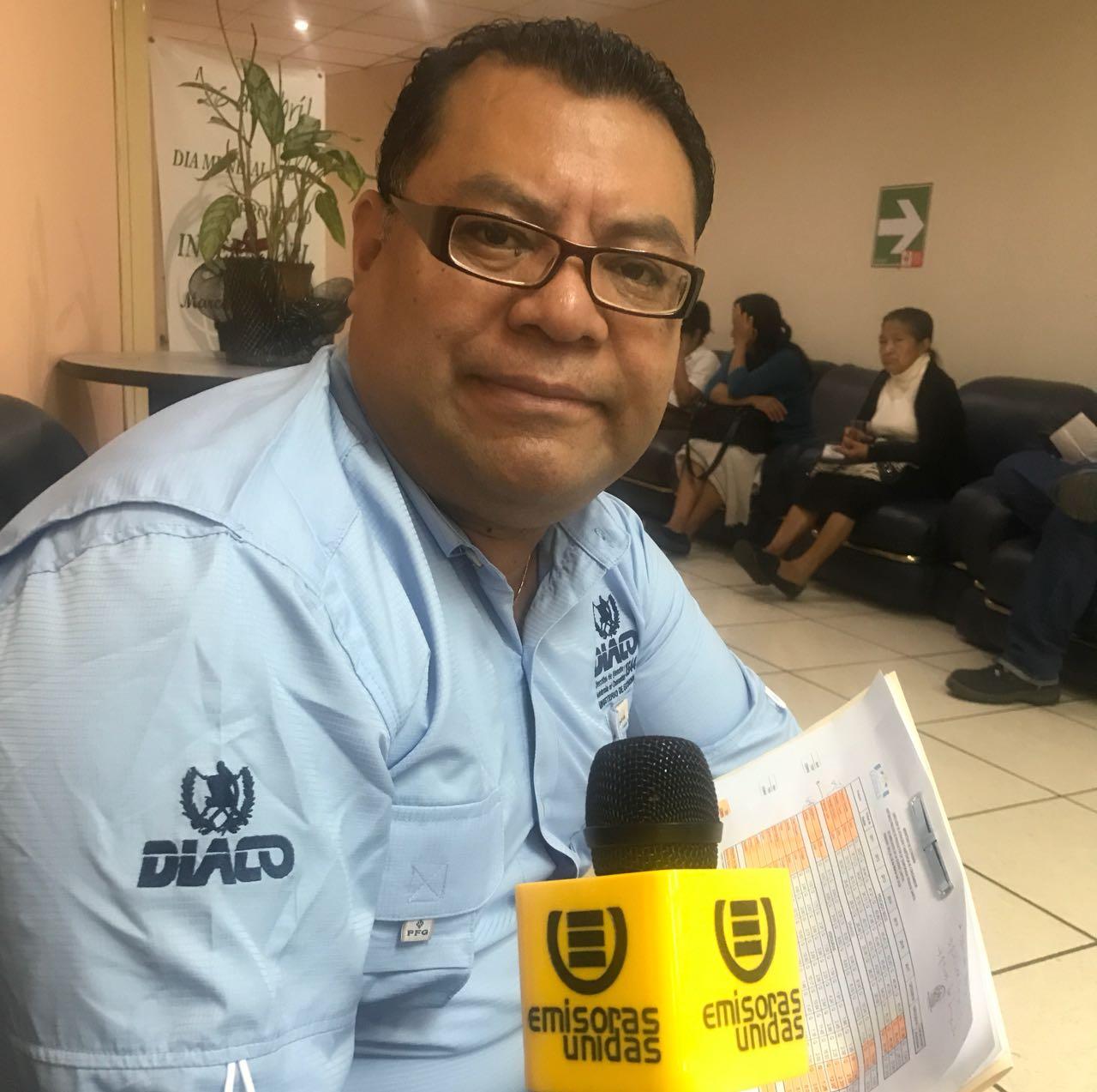 Carlos Vásquez, vocero de la Diaco, Emisoras Unidas EU Guatemala