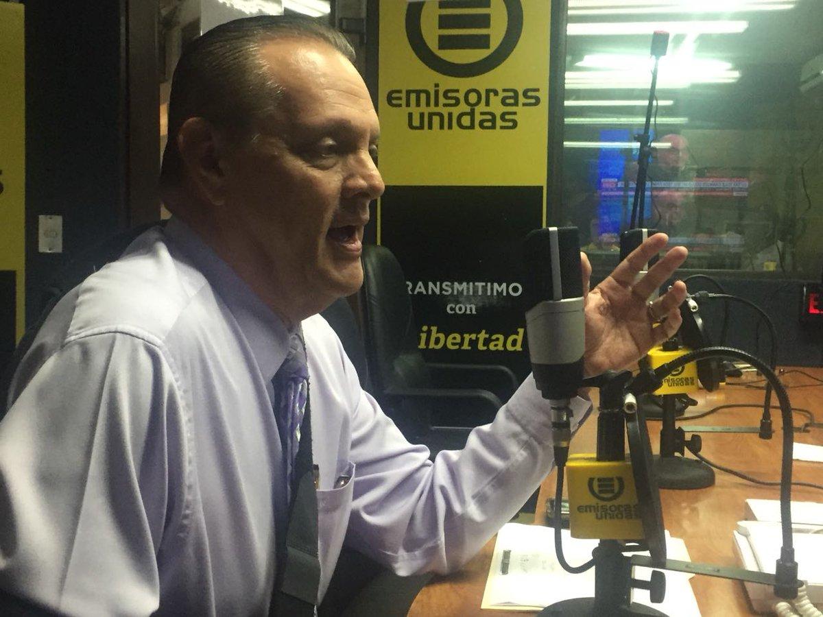 Ministro Carlos Soto EU Emisoras Unidas Guatemala