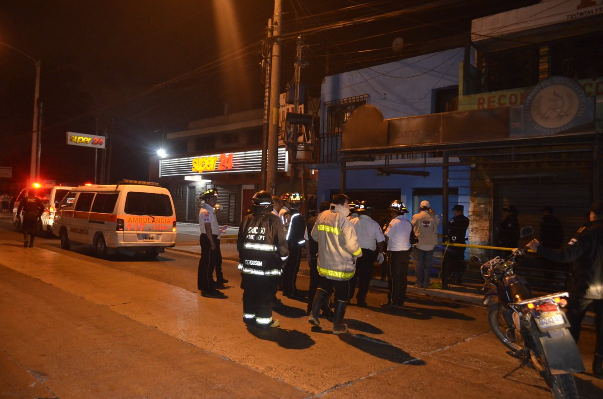 Muertos sin identificar EU Emisoras Unidas Guatemala