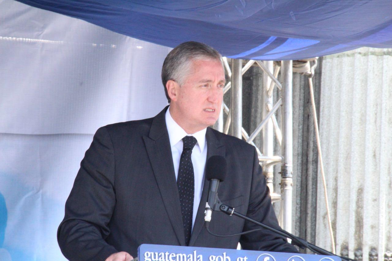 Ministro Enrique Degenhart EU Emisoras Unidas Guatemala