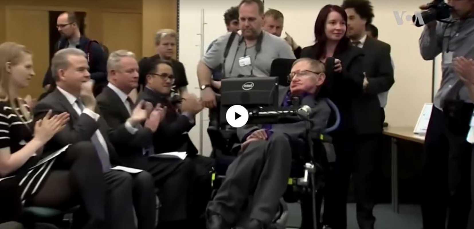 Genio y figura hasta la sepultura: la vida de Stephen Hawking