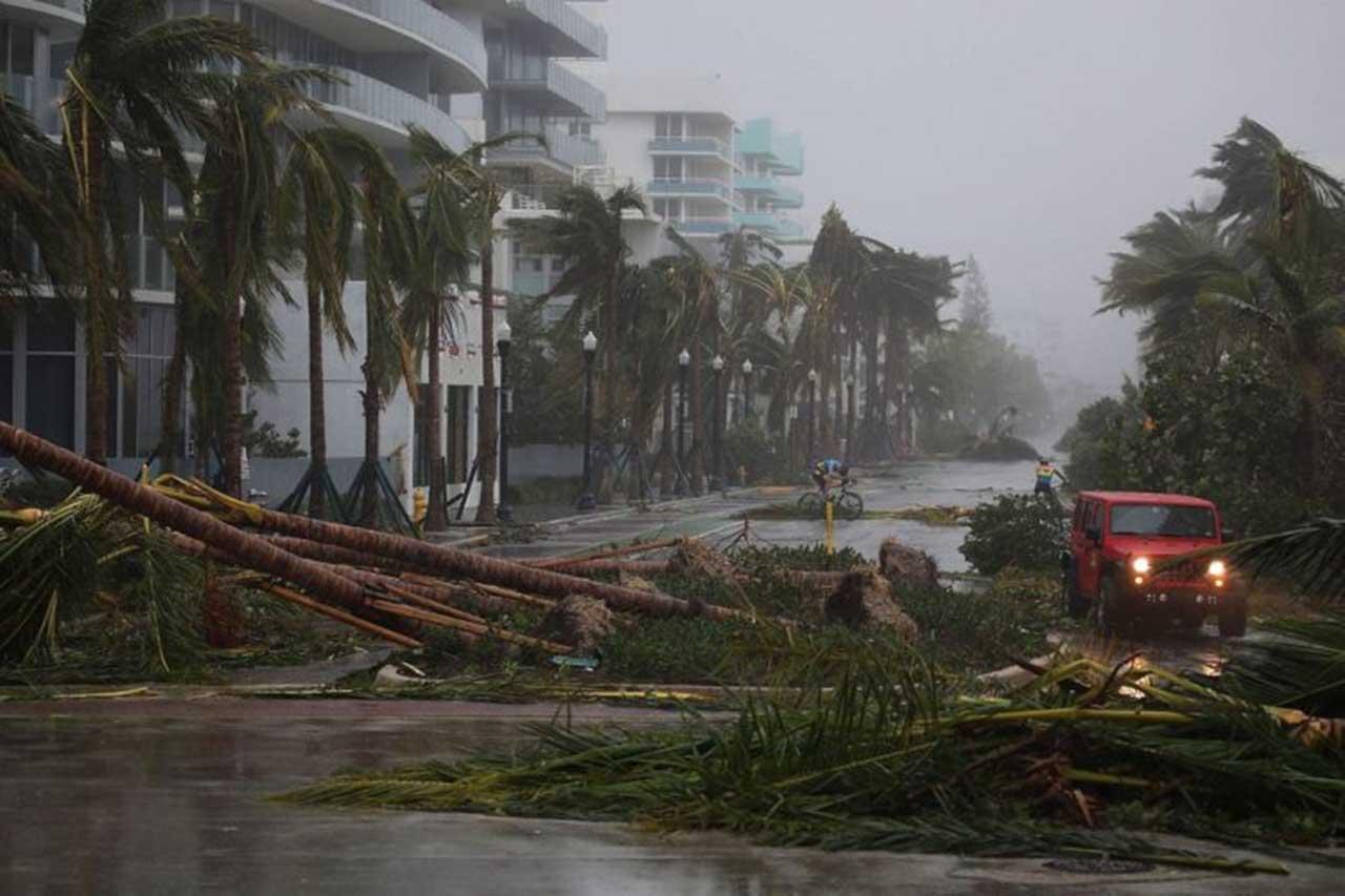 Los daños causados por el huracán Irma en EEUU