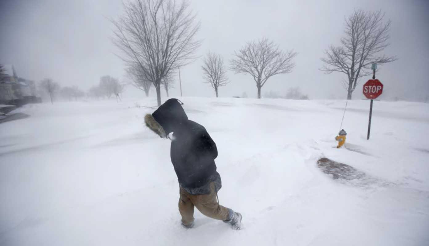 Nueva tormenta invernal azota el noreste de EEUU