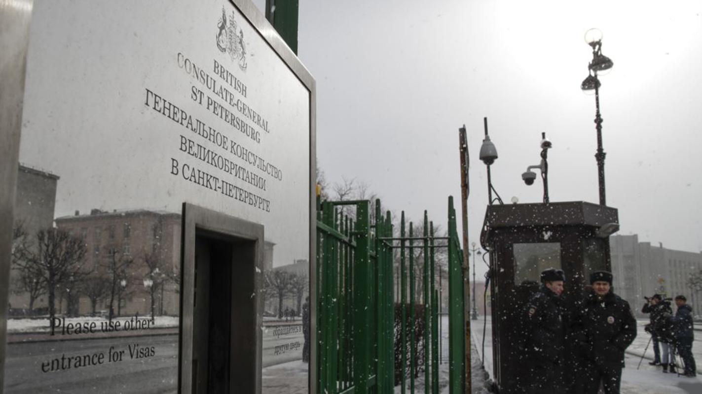 Rusia expulsa a 23 diplomáticos británicos por caso de espía