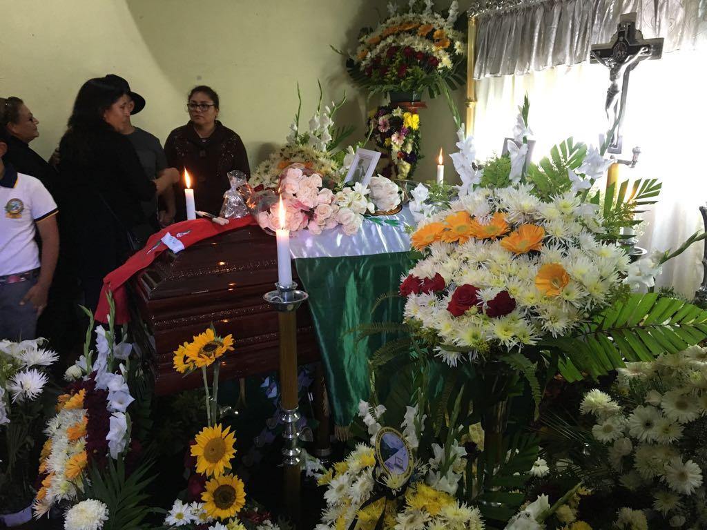 Carlos Ulín, estudiante muerto en Totonicapán