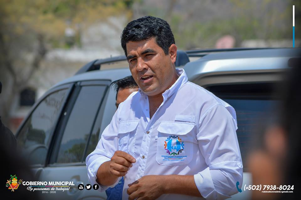 Alcalde de Rabinal Elbin Steyman Herrera