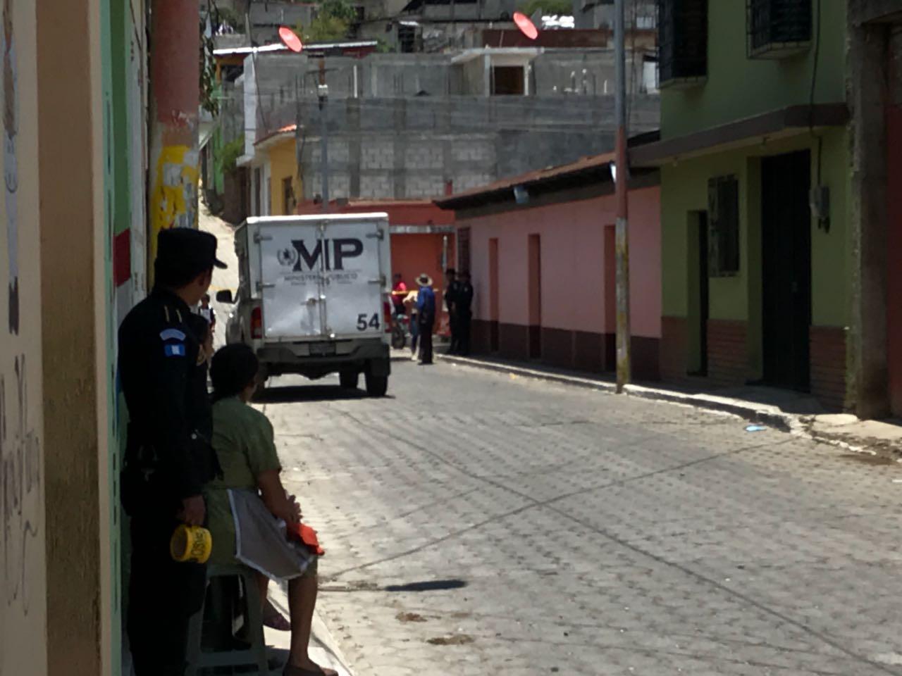 Juez de Paz herido en Chimaltenango