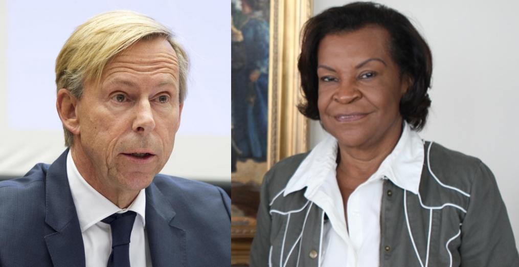 Embajadores de Suecia y Venezuela