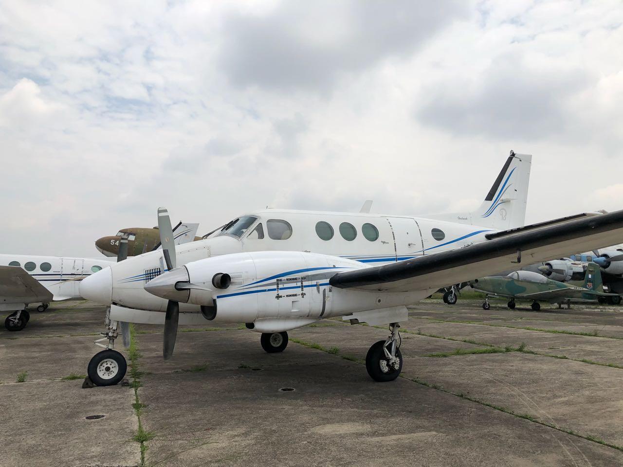 Avioneta que pasa a favor del Estado de Guatemala