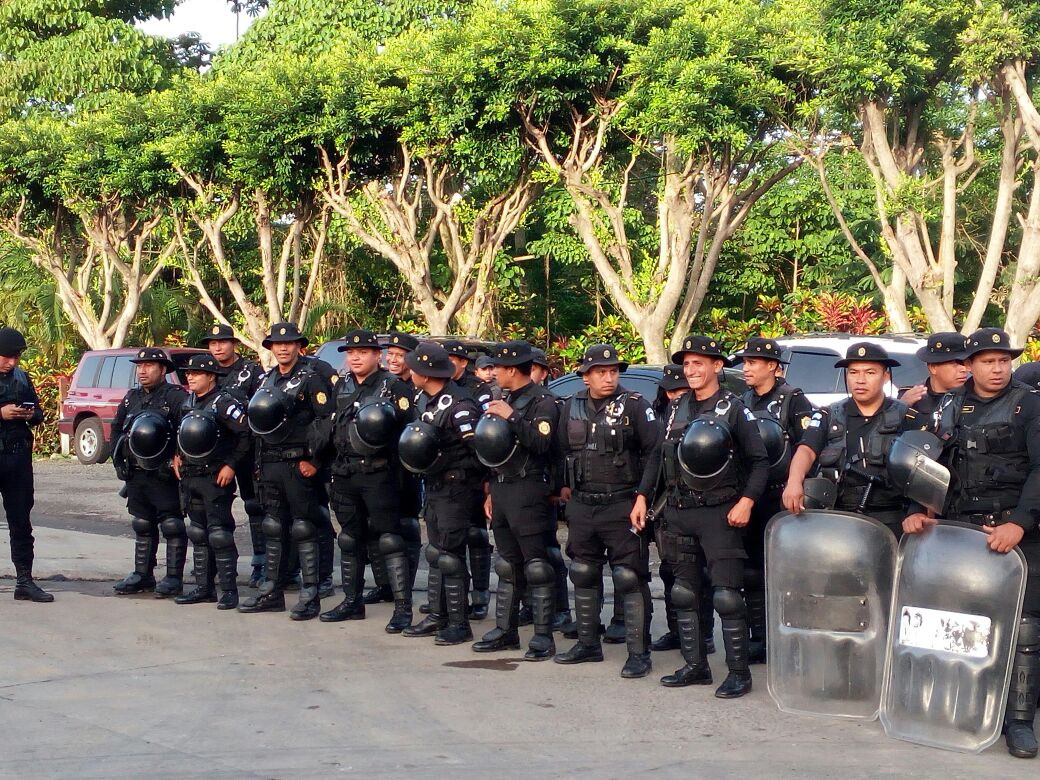 Manifestación en Coatepeque