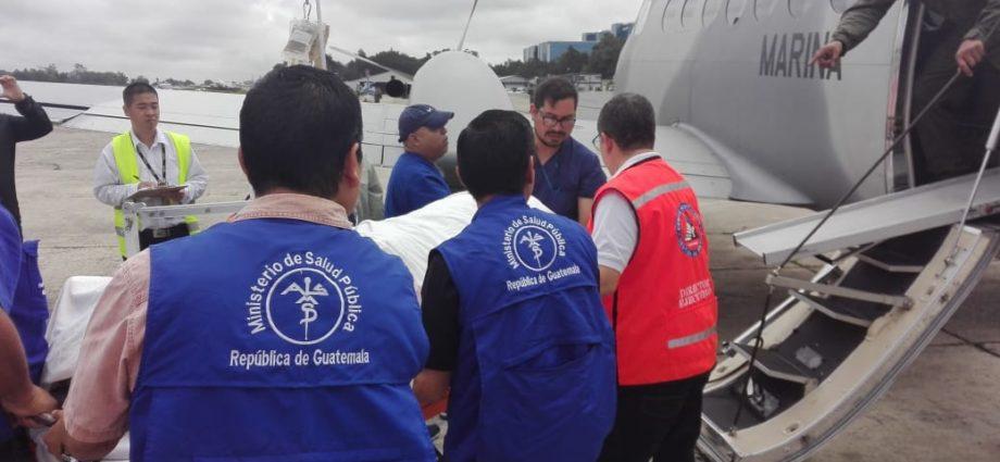 Traslado de pacientes a México