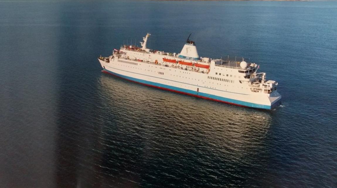 El barco Logos Hope